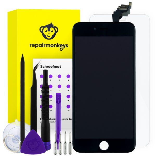 Repair Monkeys iPhone 6 Plus zwart Scherm Reparatieset