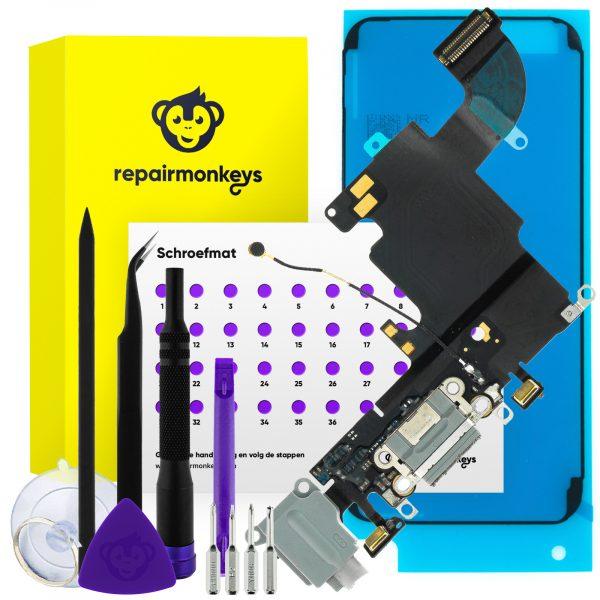 Repair Monkeys iPhone 6s donker grijs dock connector