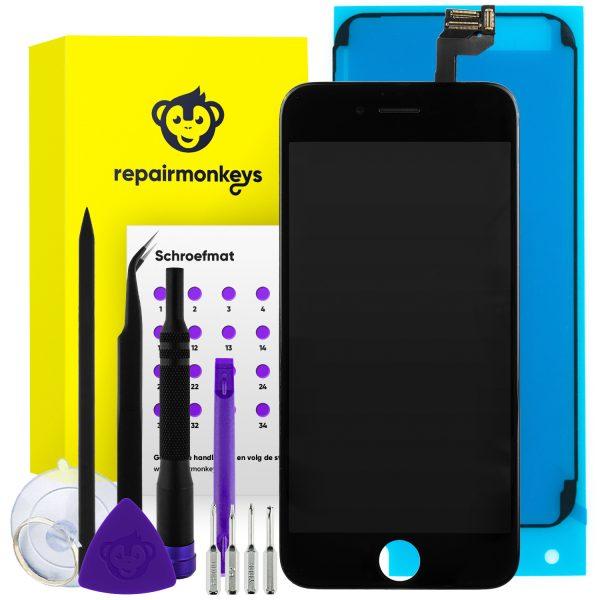 Repair Monkeys iPhone 6s zwart Scherm Reparatieset
